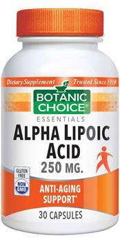 Alpha Lipoic Acid 250 mg.