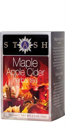 Stash <br> Maple Apple Cider Herbal Tea