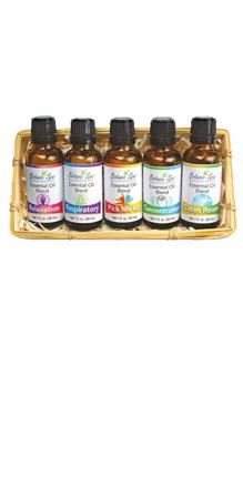 Essential Oil Blend Basket