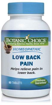 Homeopathic Low Back Pain Formula