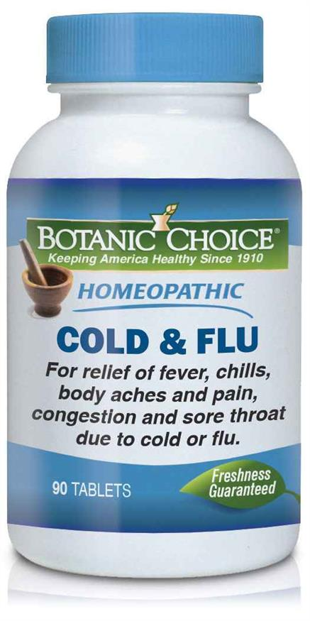 Homeopathic Cold & Flu