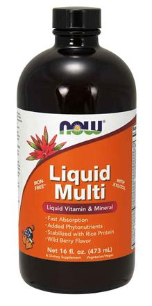 NOW Foods<br>Liquid Multi Wild Berry