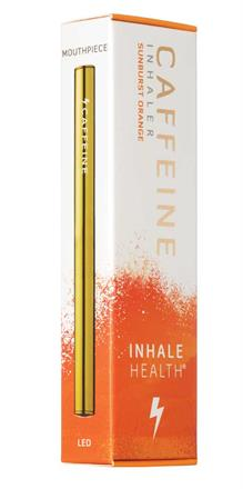 Inhale Health<br>Caffeine Sunburst Orange Inhaler