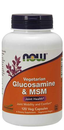 NOW Foods<br>Glucosamine & MSM