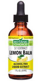 Lemon Balm Liquid Extract benefits relaxation and mood