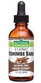 Botanic Choice Yohimbe Bark Liquid Extract 1 oz