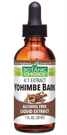 Yohimbe Bark Liquid Extract