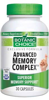 Advanced Memory Complex Formula benefits memory and brain function