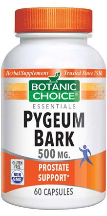 Pygeum Bark 500 mg.