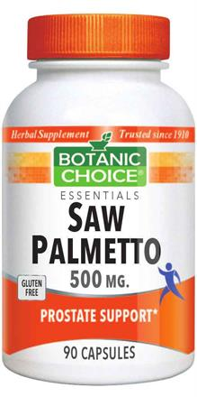Saw Palmetto 500 mg.
