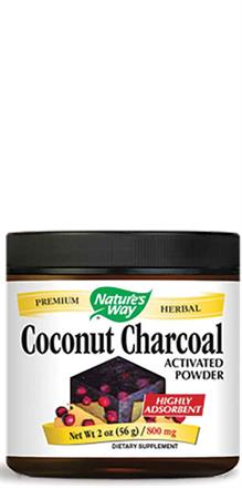 Nature's Way <br> Coconut Charcoal Powder