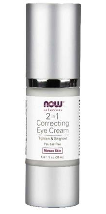 NOW Foods<br>2 in 1 Correcting Eye Cream