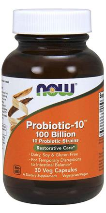 Now Foods - Probiotic-10™ 100 Billion