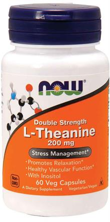 Now Foods <br> L-Theanine 200 mg