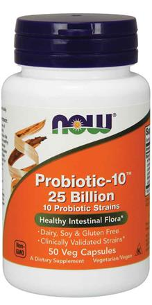 Now Foods <br>Probiotic-10™ 25 Billion