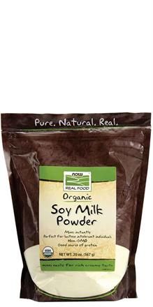 Now Foods <br> Organic Soy Milk Powder