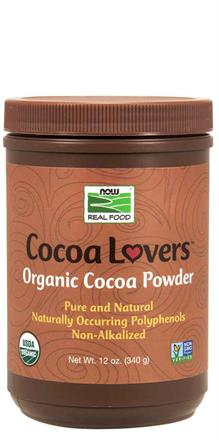Now Foods <br> Organic Cocoa Powder