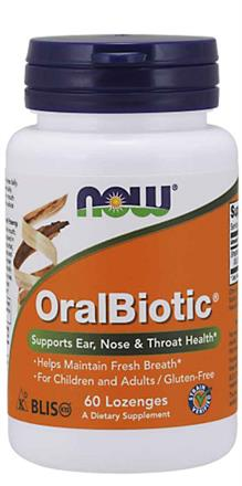 NOW Foods <br> OralBiotic® Lozenges
