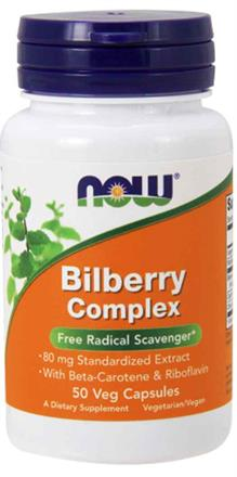 Now Foods <br> Bilberry Complex