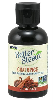Now Foods <br> BetterStevia® Liquid, Chai Spice