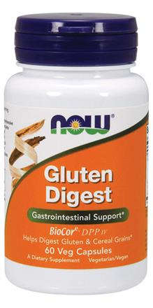 Now Foods <br> Gluten Digest Vege Capsules