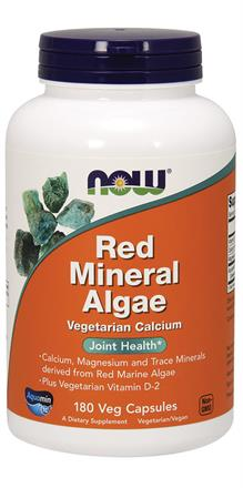 Now Foods <br> Red Mineral Algae Veg Capsules