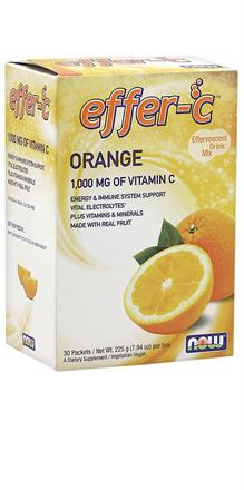 NOW Foods <br> Effer-C Orange