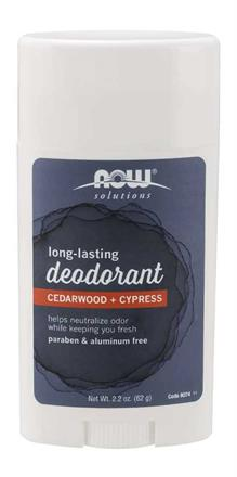 Long-Lasting Deodorant Stick<br>Cedarwood + Cypress Scented