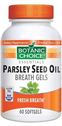 Parsley Seed Oil - Breath Gels