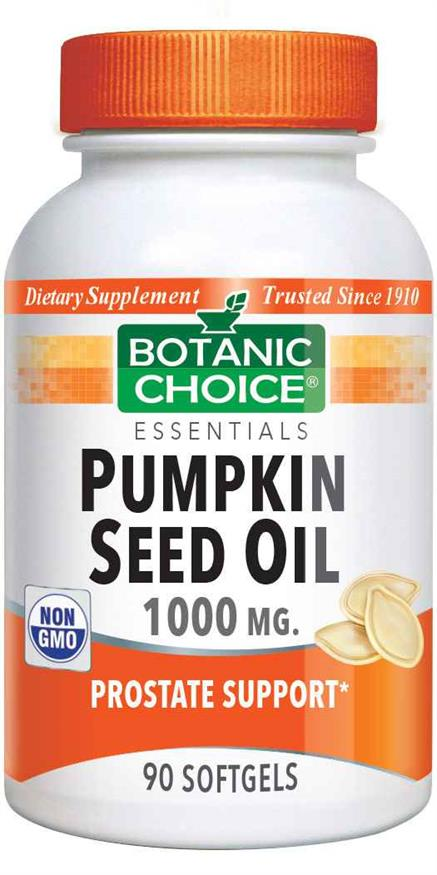Pumpkin Seed Oil 1000 mg.