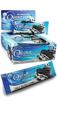 Quest Nutrition <br>  Quest Protein Bars - Cookies & Cream