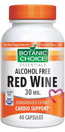 Red Wine Extract 30 mg.