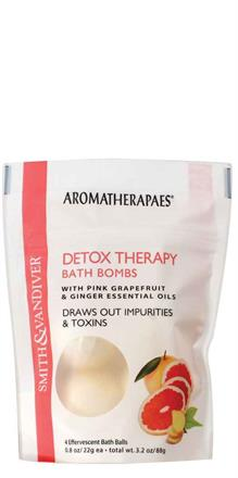 Smith & Vandiver - Aromatherapaes <br> Detox Therapy 4 pc Bath Bombs