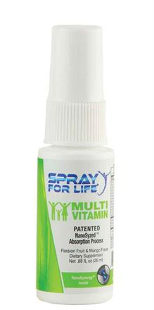 Spray For Life® Nanomist® <br> Multi-Vitamin Spray