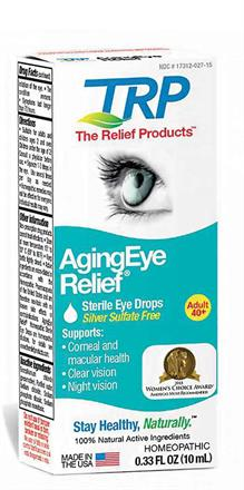 The Relief Product <br> AgingEye Relief®