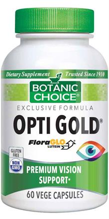 Opti Gold® Vision & Eye Health Supplement