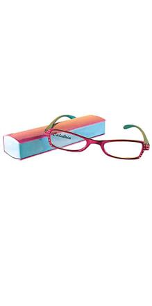 Calabria 2 Tone Reading glasses with Hard Case