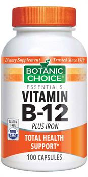 Vitamin B-12 Plus Iron