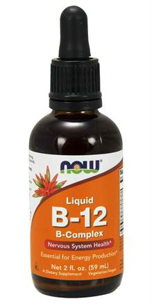 NOW Foods<br>Vitamin B-12 Liquid Complex