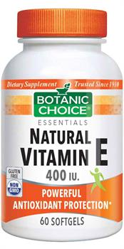 Vitamin E Natural (D-Alpha)
