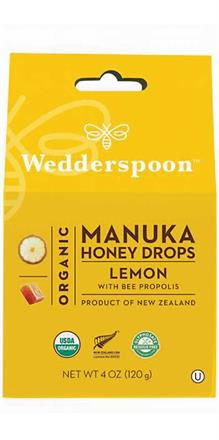 Organic Manuka Honey Drops<br>Lemon
