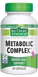 Metabolic Complex provides advanced nutritional support for weight loss