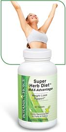 Super Herb Diet Max Advantage Naturally Supports Weight Loss with Relora