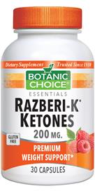 Razberi-K Ketones by Botanic Choice Weight Loss supplement