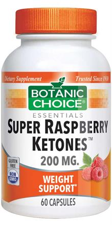 Buy Super Raspberry Ketones 200 Mg 60 Capsules Botanic Choice