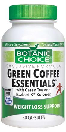 Buy Green Coffee Bean Essentials With Green Tea And Razberi K