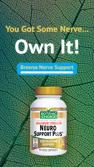 you got some nerve... own it! Browse Nerve Support Neuro Support Now!