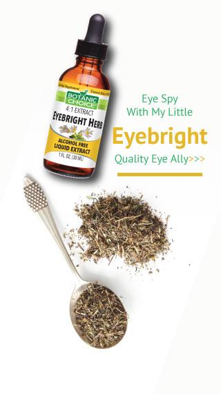 Eye spy with my little eyebright quality eye ally
