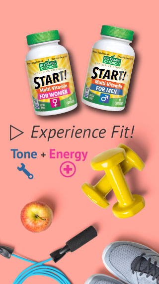 experience fitness tone and energy start multivitamin