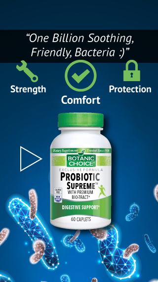 one billion friendly bacteria at the ready and probiotic supreme formula